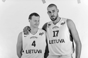 Jonas Valanciunas by Robertas Dačkus with permission